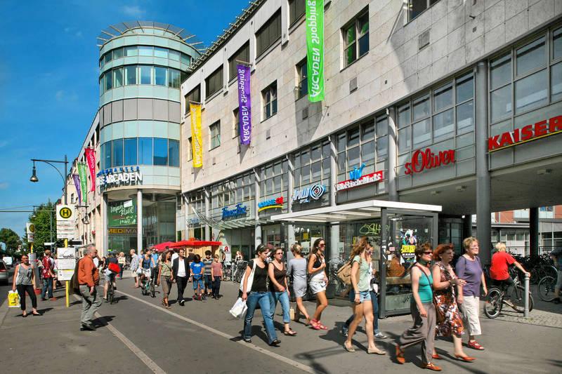 Jahr 2012/2013 – Einkaufszentrum Schönhauser-Allee-Arcaden, Berlin
